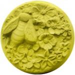 Seifenform Biene mit Blüten R3