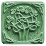 Seifenform Keltisches Kleeblatt Q1